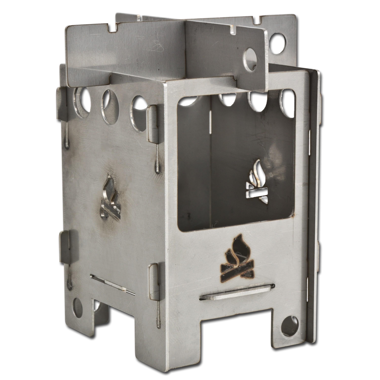 Mikrokocher EDC-Box Bushcraft Essentials