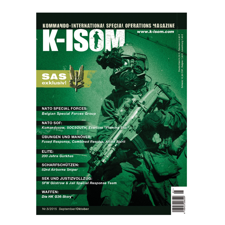 Kommando Magazin K-ISOM Ausgabe 05-2015