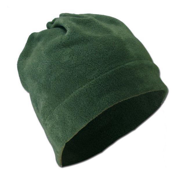 Kopf/Halswärmer fleece oliv