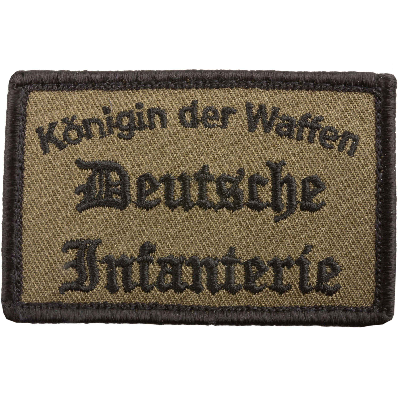 Café Viereck Patch Deutsche Infanterie