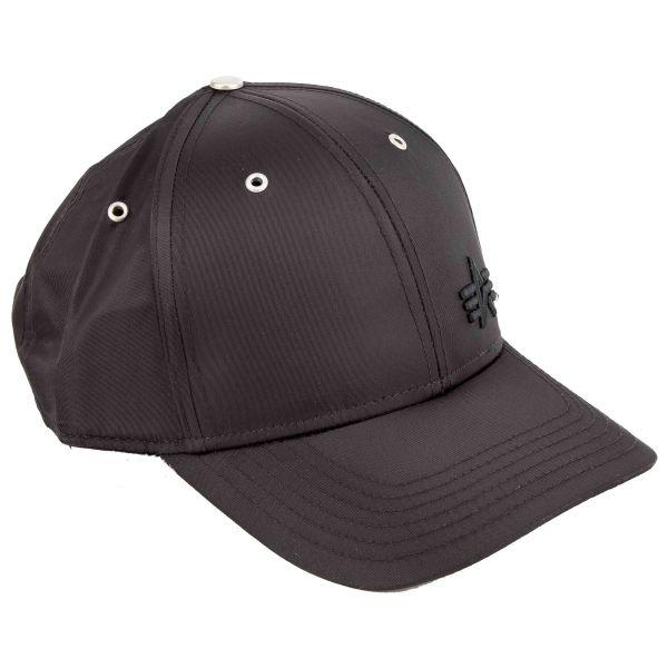 Alpha Industries Baseballcap Small Logo Flight Cap schwarz