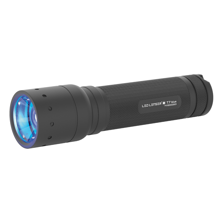 LED Lenser Taschenlampe T7.2 blau