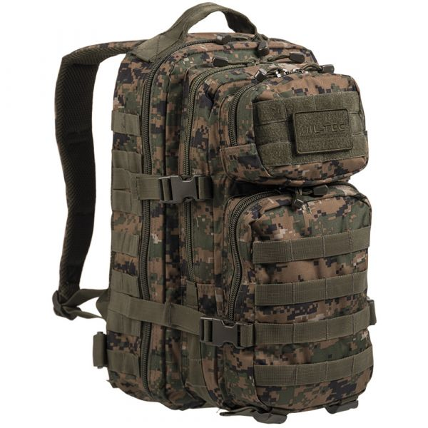 Rucksack US Assault Pack digital woodland