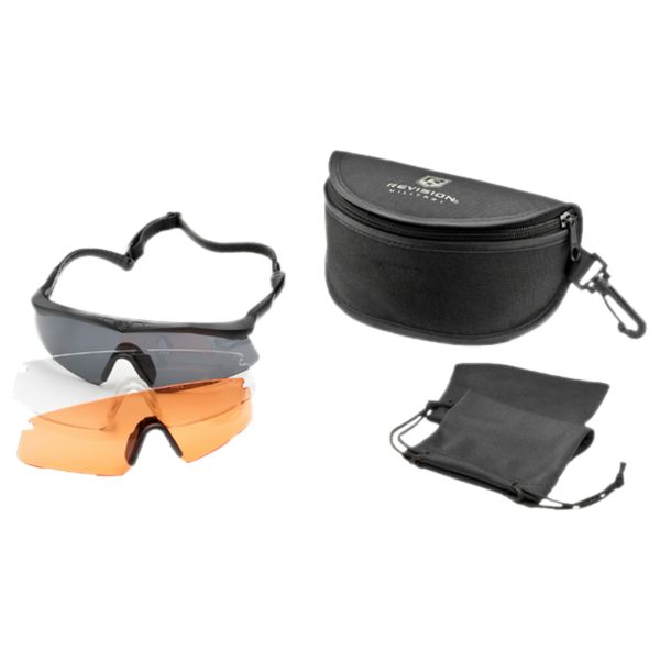 Revision Brille Sawfly Pro Mission Kit schwarz small