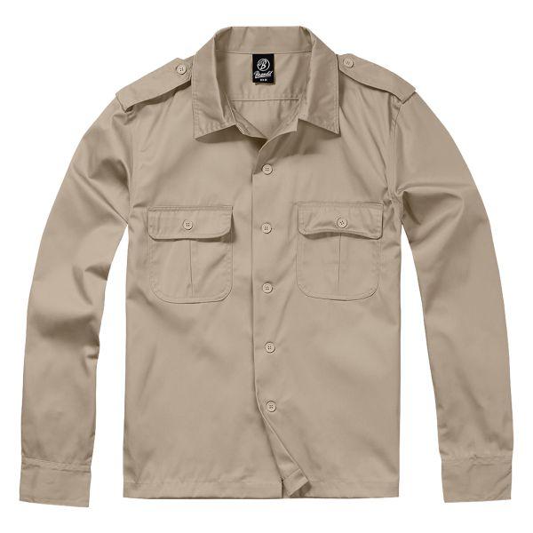 Brandit US Hemd 1/1 Arm beige