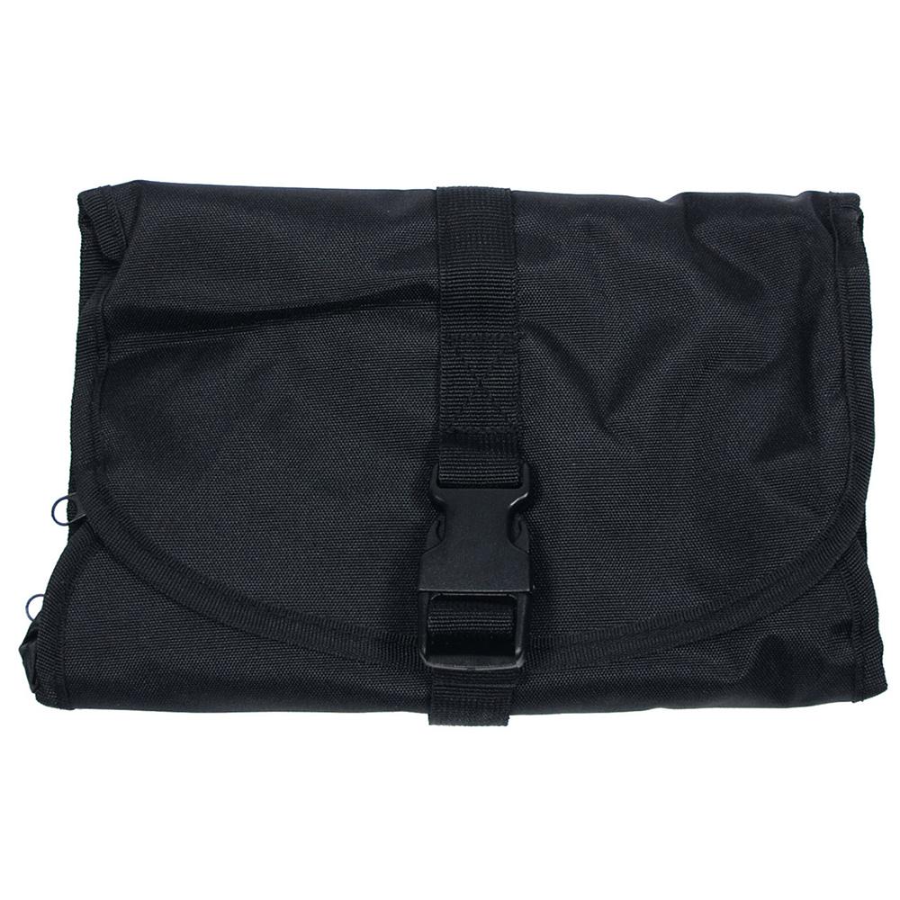 MFH Waschzeugtasche rollbar schwarz