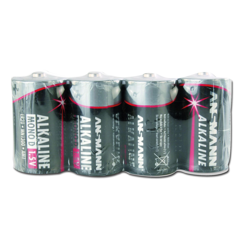 Batterie Ansmann Mono D Red-Line 4er-Pack