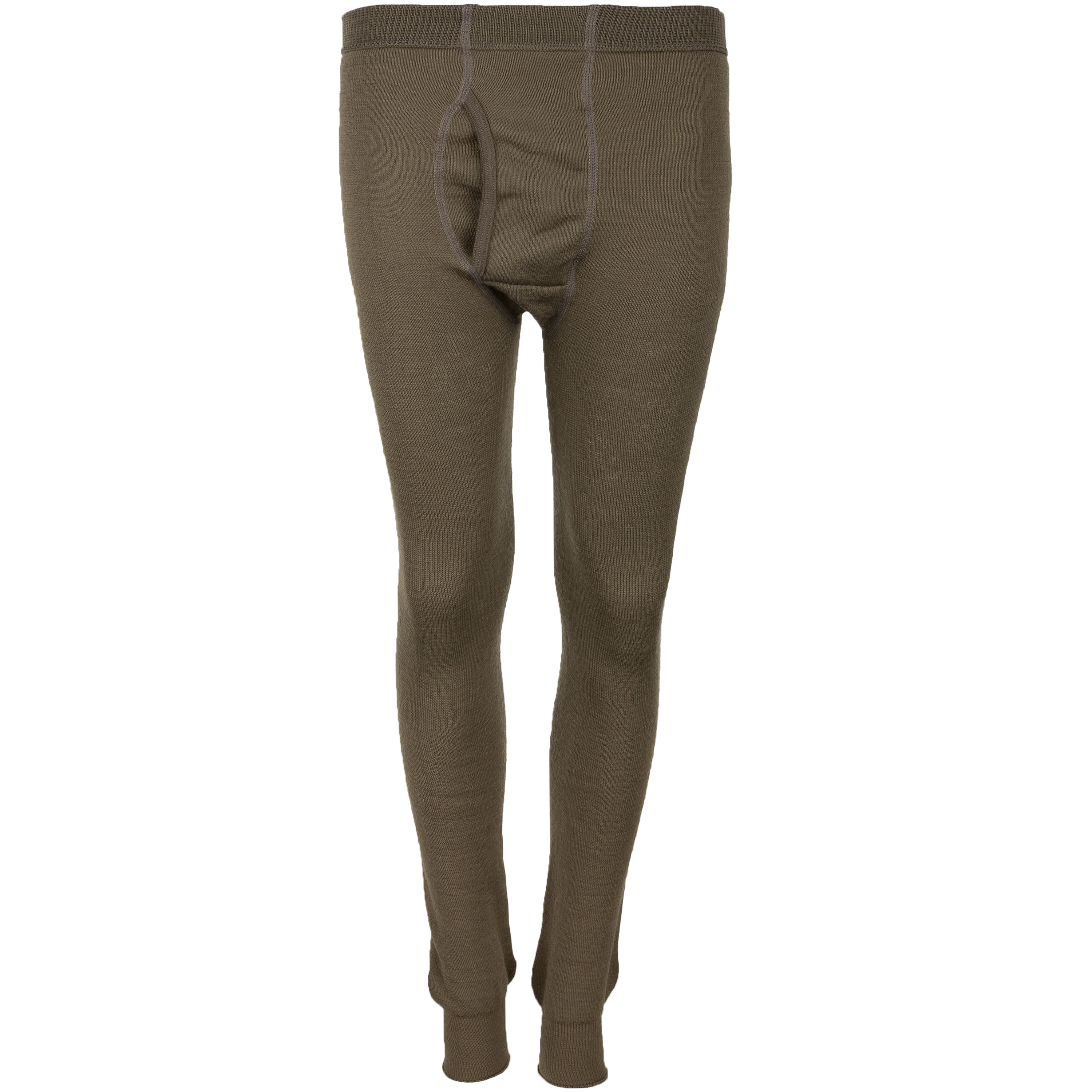 Woolpower Unterhose Long Johns 200 pine green