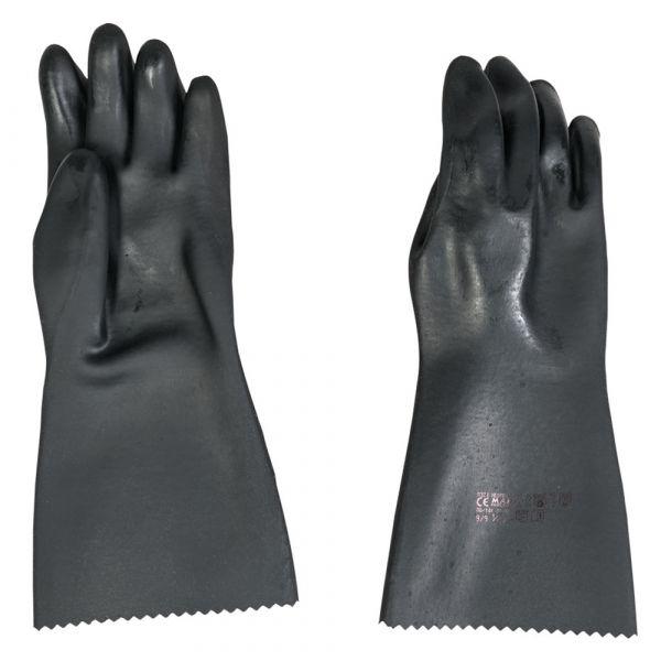 BW Schutzhandschuhe Neopren schwarz gebraucht