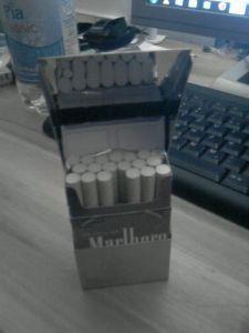 Zigarettenbox Metall