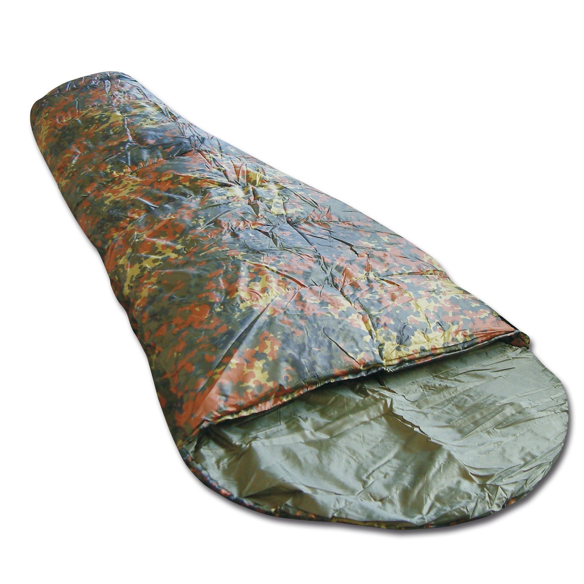 Schlafsack Commando flecktarn