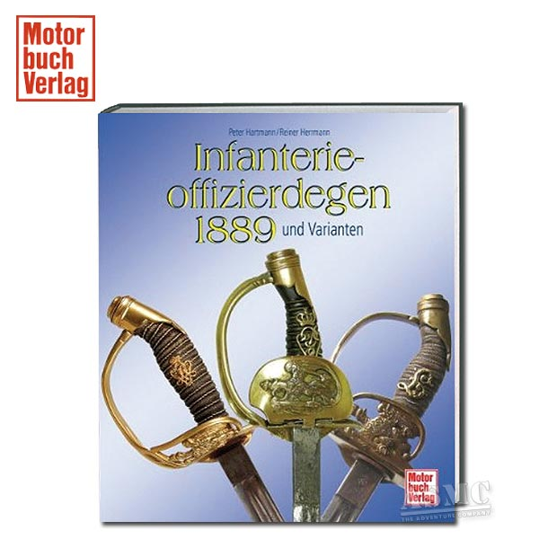 Buch Infanterieoffizierdegen 1889 und Varianten