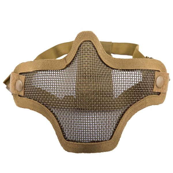 Invader Gear Gitterschutzmaske Steel Half Face Mask tan