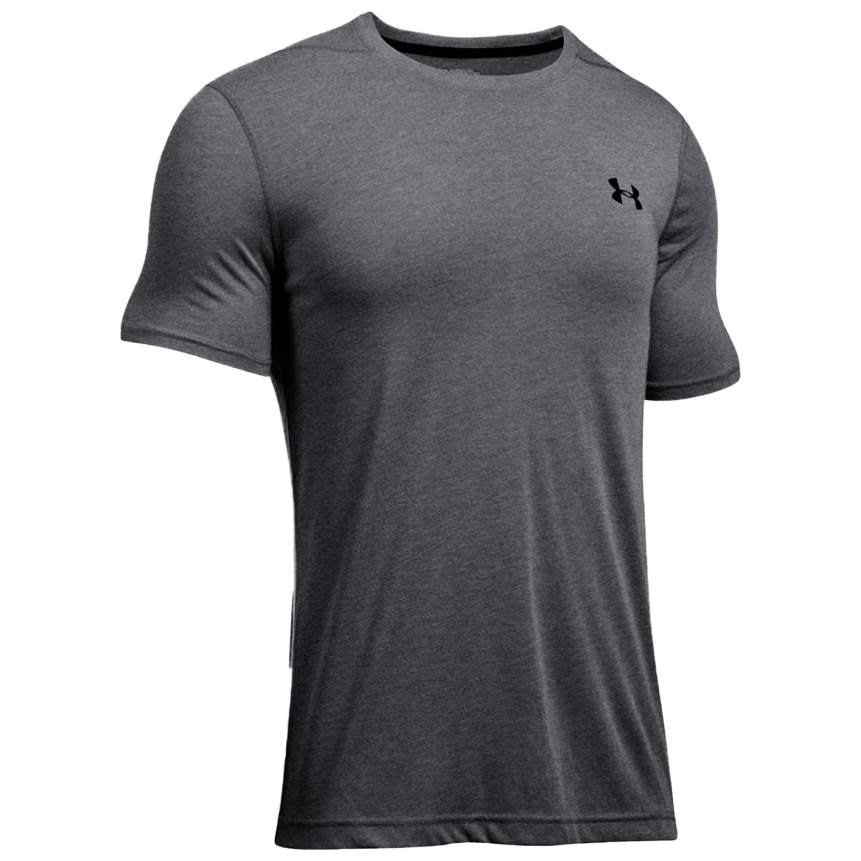 Under Armour Fitness Shirt Threadborne Fitted dunkel grau