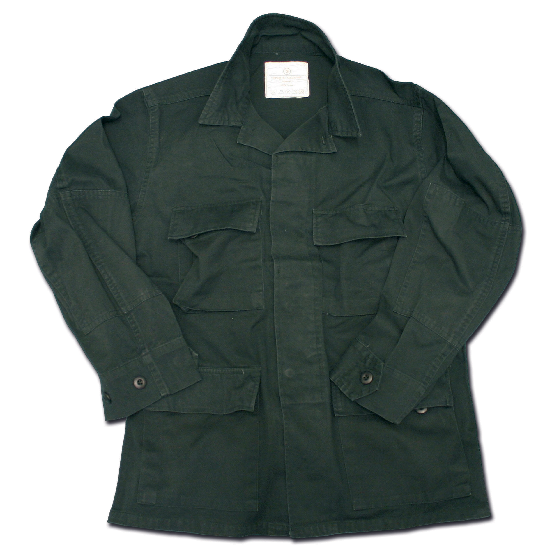 BDU Jacke Style schwarz washed