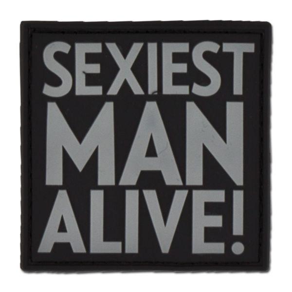 3D-Patch SEXIEST MAN ALIVE swat