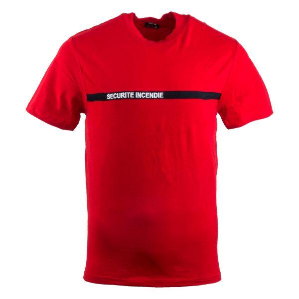 TOE Concept T-Shirt Secu-One Sécurité Incendie