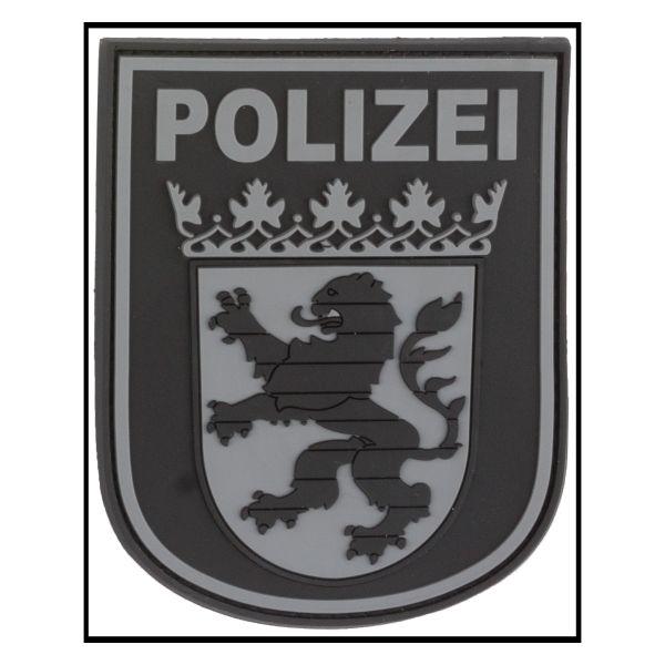 3D-Patch Ärmelabzeichen Polizei Hessen blackops