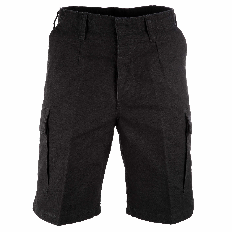Moleskin Shorts Mil-Tec schwarz
