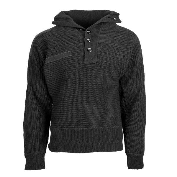 Österreichischer Pullover Alpin schwarz