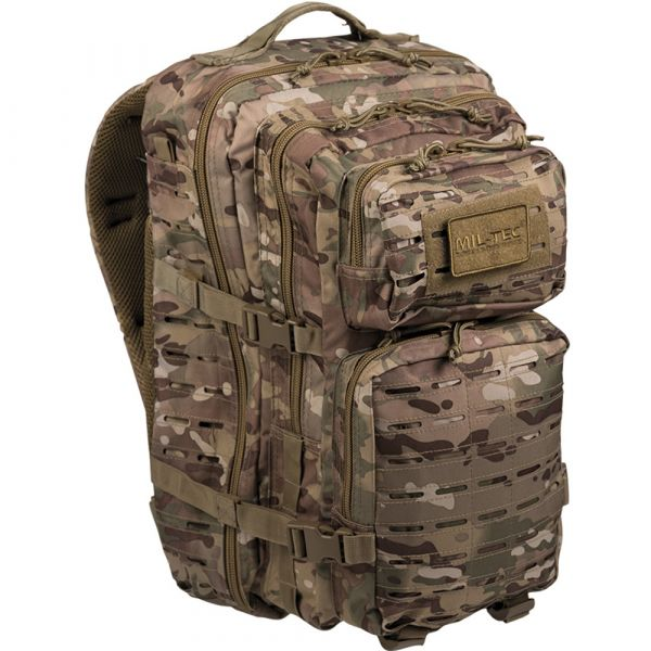 Rucksack US Assault Pack LG Laser Cut multitarn