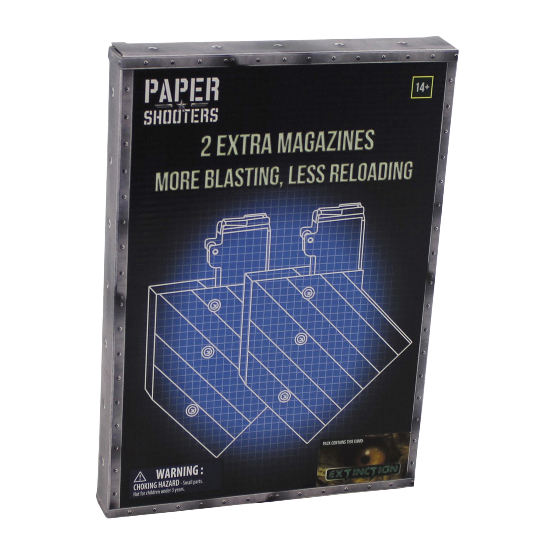 Paper Shooters Ersatzmagazin Guardian Extinction 2er Pack