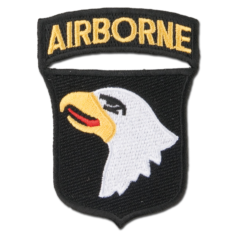 Abzeichen US Textil 101st Airborne Tab