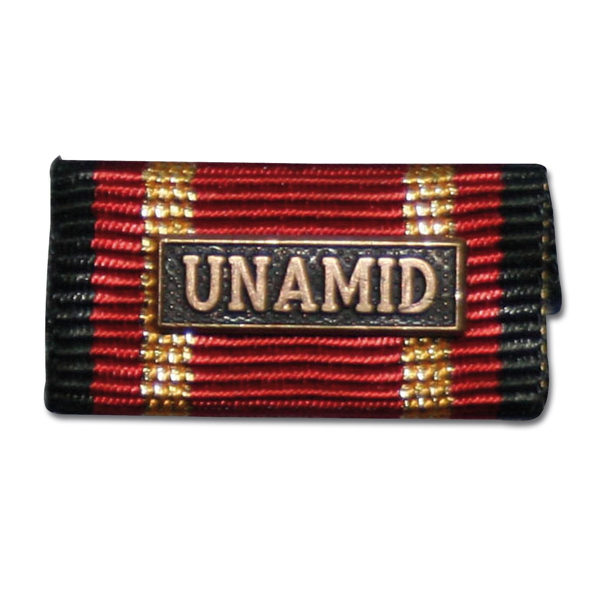 Ordensspange Auslandseinsatz UNAMID bronze