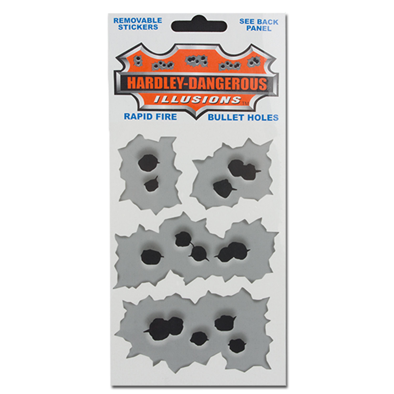 Sticker Hot Shots Metall Rapid Fire