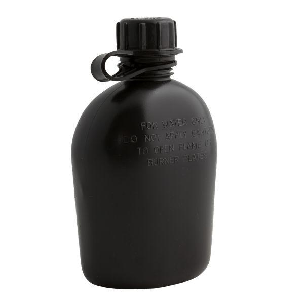 Feldflasche 1 qt schwarz