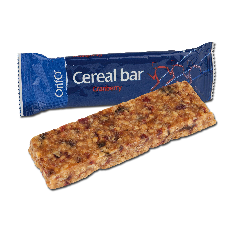 Cerealien Riegel Orifo Cranberry