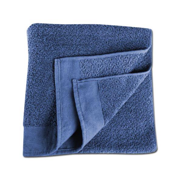 Handtuch blau 90 x 50 cm