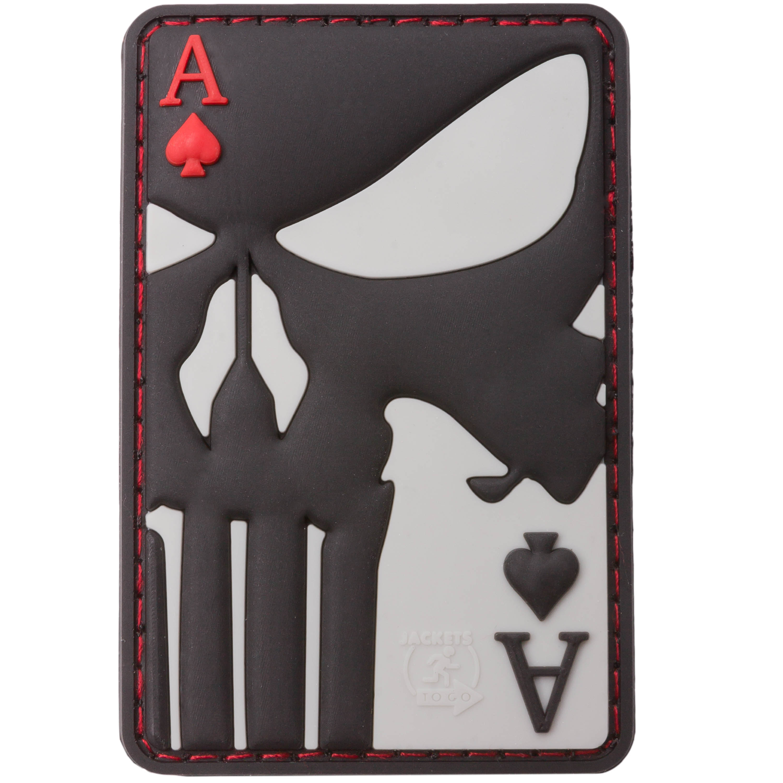 JTG 3D Patch Punisher Ace of Spades fullcolor
