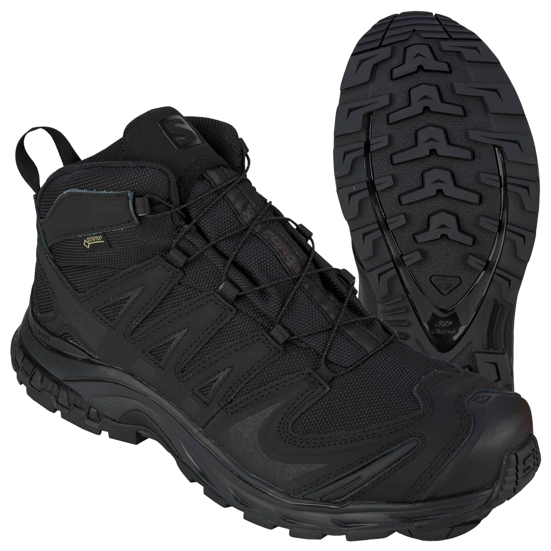 Salomon Schuhe XA Forces Mid GTX schwarz