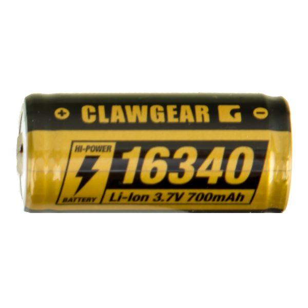 ClawGear Akku 16340 3.7V 700mAh