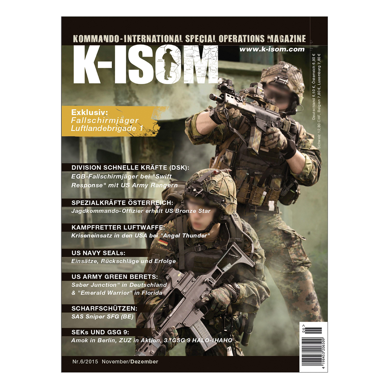 Kommando Magazin K-ISOM Ausgabe 06-2015