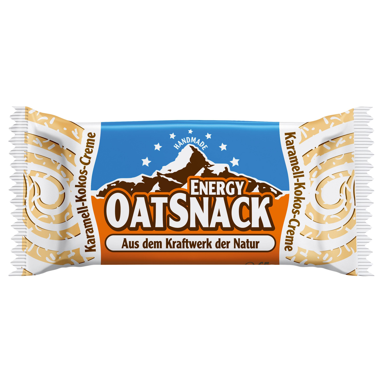 Energy OatSnack Karamell-Kokos-Creme