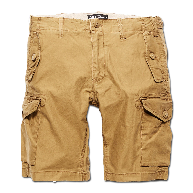 Vintage Industries Shorts Marchfield Premium dark khaki