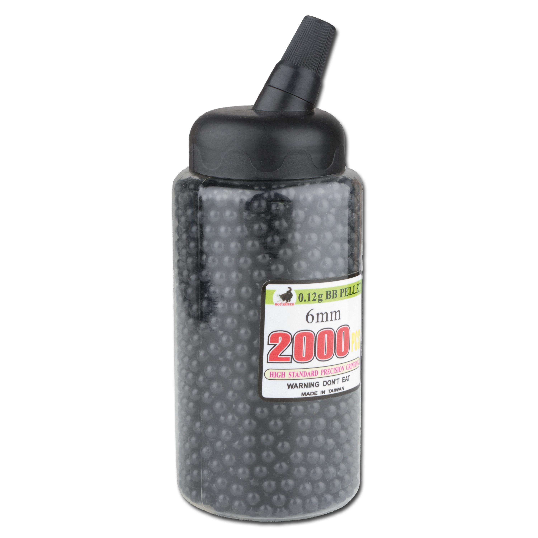 Softair-Kugeln BB Flasche 2000 St. 6 mm (0,12 g)