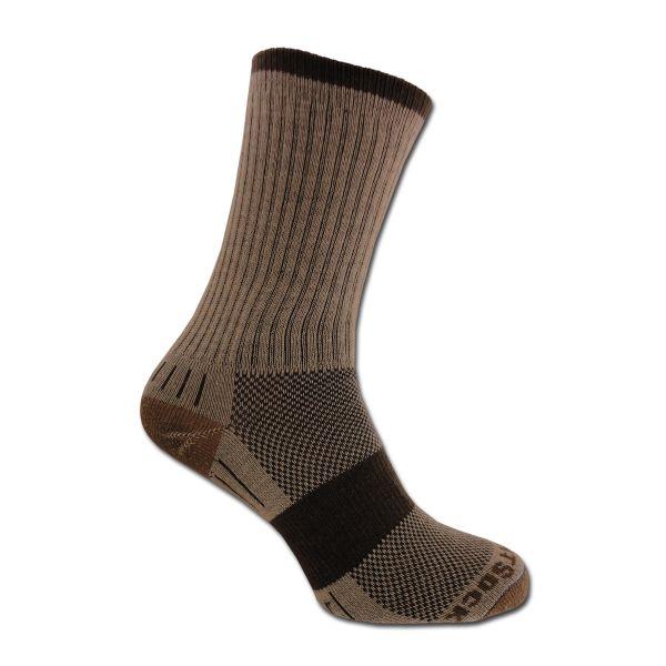 Socken Wrightsock Escape doppel-lagig khaki
