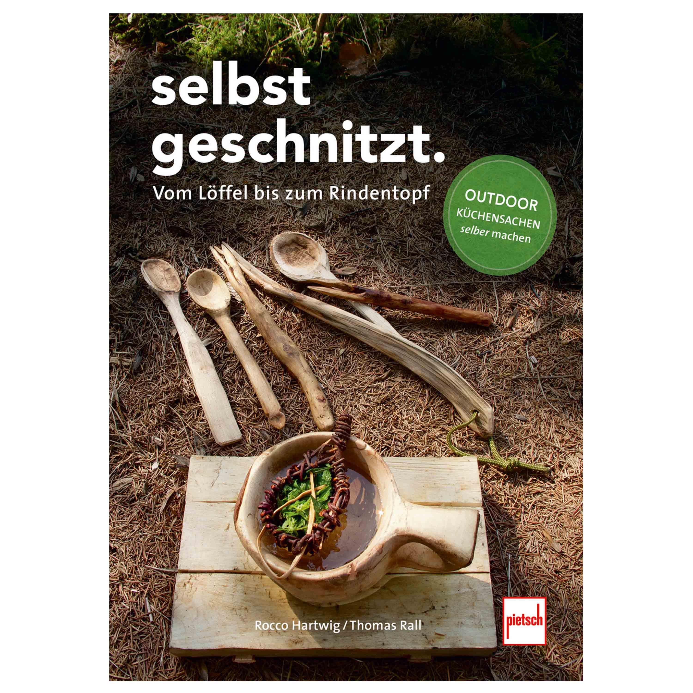 Buch Selbstgeschnitzt - Bushcraft Küchensachen selber machen