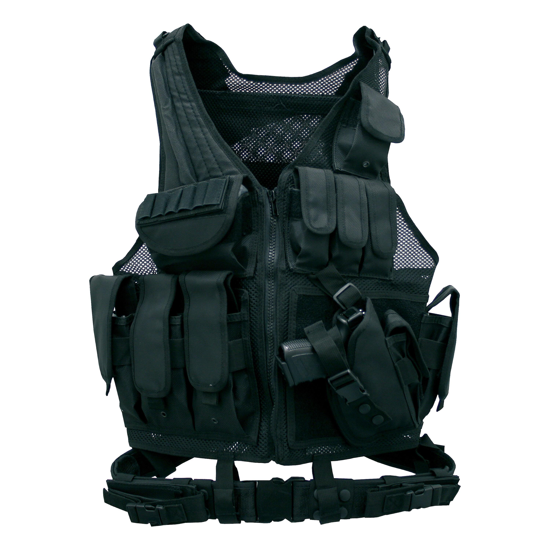 Tactical Weste Combat Zone schwarz