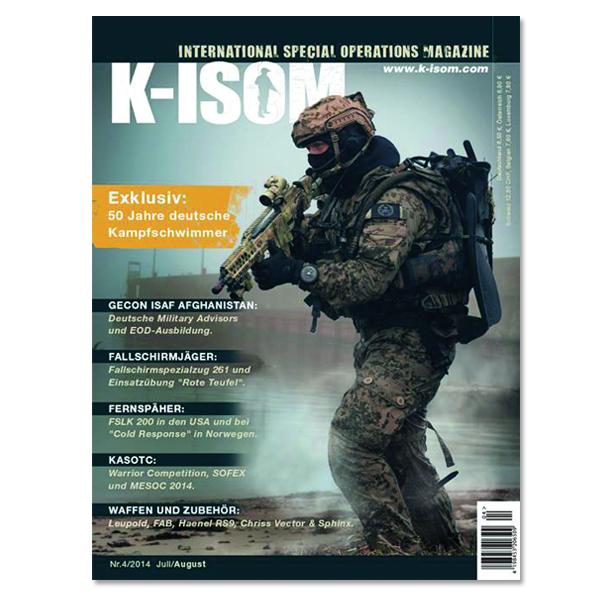 Kommando Magazin K-ISOM Ausgabe 4/2014