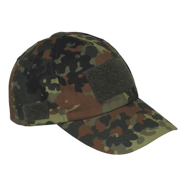 Einsatz-Cap mit Klett Universalgröße flecktarn