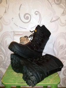 Зимние ботинки в лес.