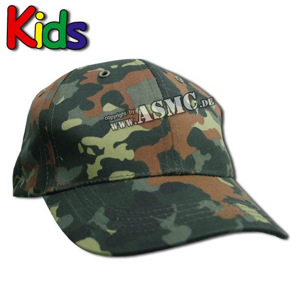 Baseballcap Kids flecktarn