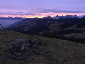 Biwack in der Schweiz