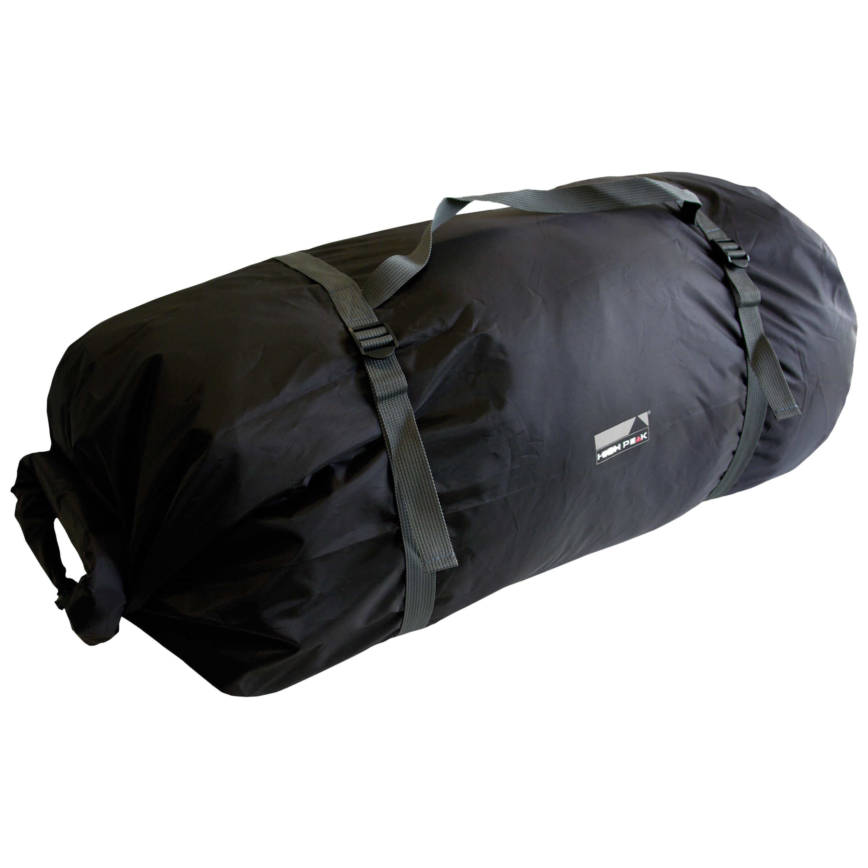 High Peak Zelt Rollpacktasche schwarz groß