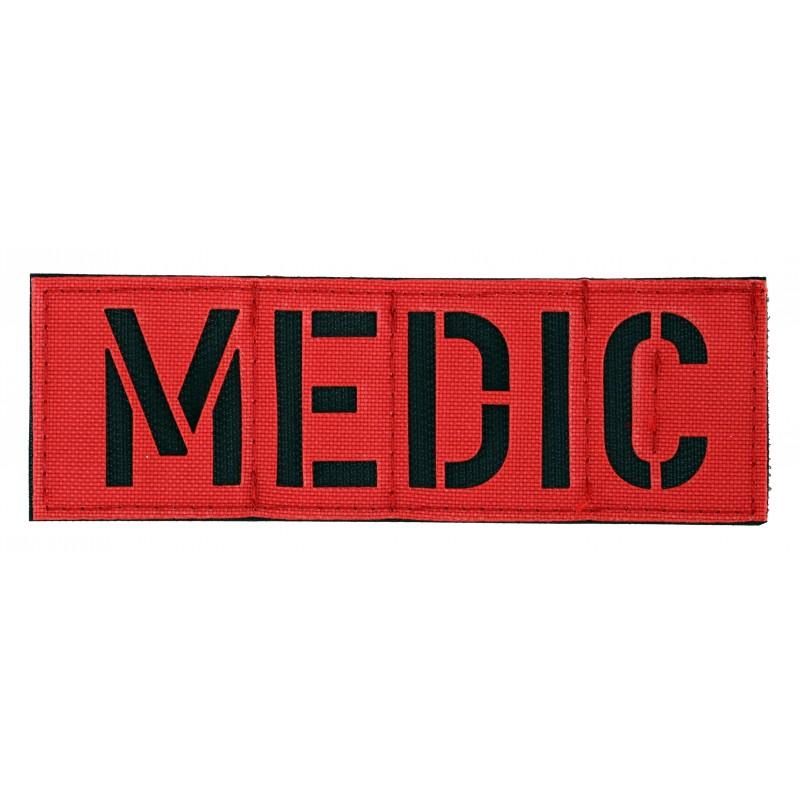 Zentauron Patch MEDIC rot schwarz