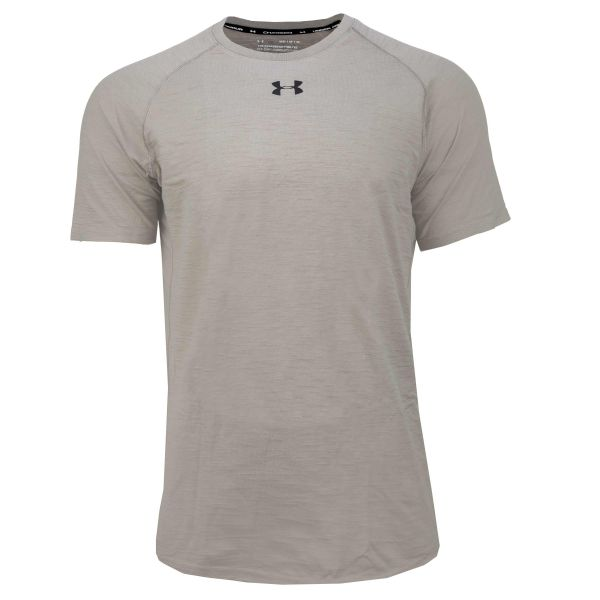 Under Armour Shirt Charged Cotton SS gravity green